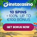 Click Here to Claim your Bonus from InstaCasino