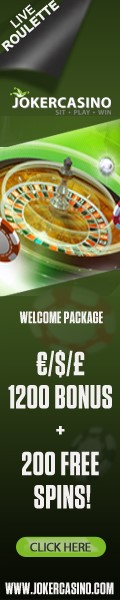 Play Live Roulette at Joker Casino